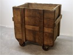 Rectangular Frame Crates Wooden Storage Crate, for Packaging
