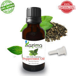 KAZIMA Peppermint Oil (15ML) - 100% Pure, Natural & Undiluted