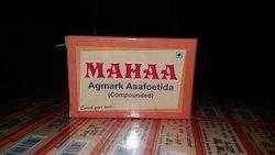 Mahaa Agmark Compounded Asafoetida Cake, Packaging: Carton Box