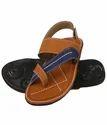 Pvc Daily Wear Men Trendy Sandals - Tan