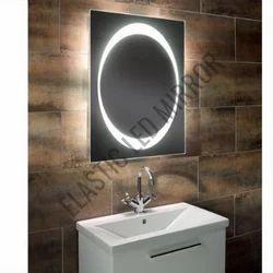 Illuminated Magnifying Glasses Mirror