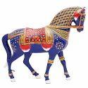Meenakari Work Horse Walking MT082
