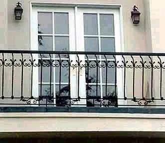 Wrought Iron Balcony Railings, रॉट आयरन रेल, लोहे की ...