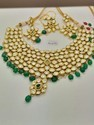 Kundan Dark Polki Necklace Set