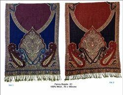 Fancy Bead Woolen Shawls