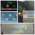 Holographic Ribbons for Identity Card Printers