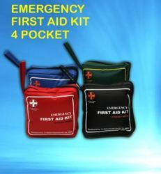 Emergency First Aid Kit- 4 Pocket