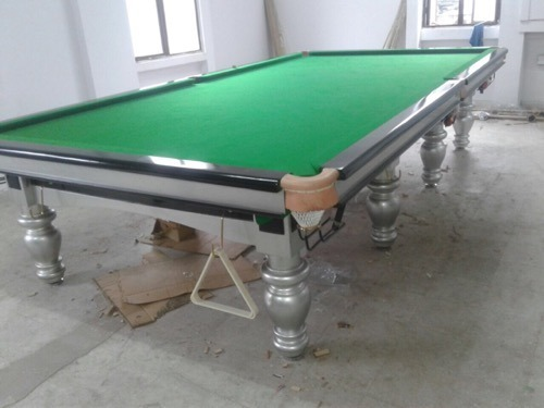 Solid Wood Royal Snooker Table Rs Set Tanishq Billiards - Snooker table vs pool table