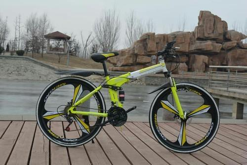 Bmw X6 Yellow Foldable Cycle At Rs 15500 Piece Foldable Bicycle