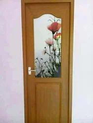 Star sign Brown Fiberglass Doors, For Home