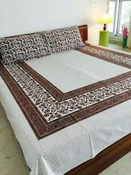 Home Printed Cotton Bed Sheets