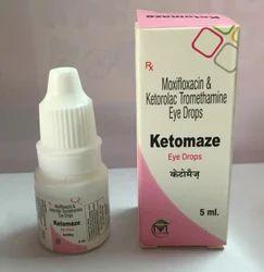 Ketorolac & Moxifloxacin Eye Drops