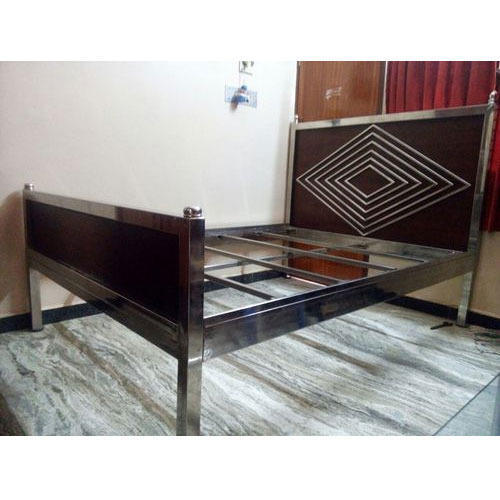 a87c965ee8f2 Brown And Grey Stainless Steel Bed Frame, Rs 5000 , Sri Guru Rayaru ...