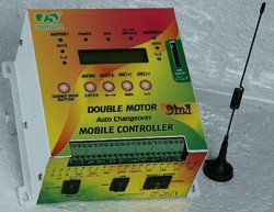 Double Motor GSM Mobile Controller