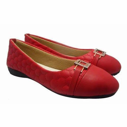 18fbab8071 Sammy Women Red Ballerina Shoe, Rs 340 /pair, SAMM Wordwide Private ...