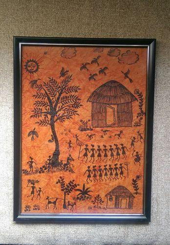 Warli Canvas Painting Frames For Gifts at Rs 1500 /unit | Artistic ...