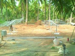 Solar Pump Structure Manual Tracking Structure