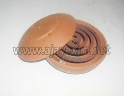 Clay Mosquito Coil Holder