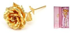 Exclusive Rose In 24 Karat Gold By Jewel Fuel