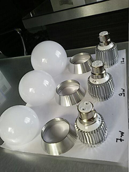 Ceramic Bulb Housing, Shape: Round
