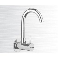 Silver Stainless Steel Water Tap, for Bathroom Fitting