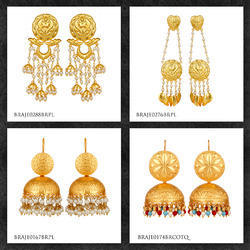 Gold Plated Fashion Traditional Earrings Jewelry
