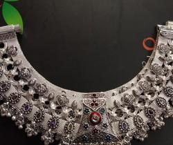 Orange Silver Rajwadi collection