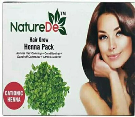 Nature De Heena Pack Hair Grow For Personal Rs 135 Pack Id