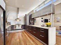 Modular Kitchen-C Shape