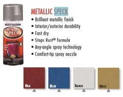 Rust Oleum Automotive Metallic Speck Spray Paint