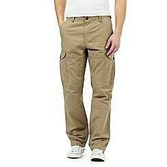 Cotton Flat Trousers Trousers