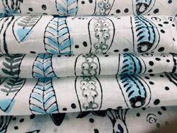 Fish Printed Hand Block Printed Fabrics
