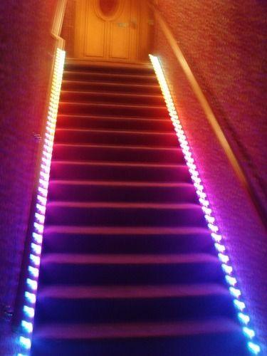 Lighting Basement Washroom Stairs: Aluminium LED Stair Lighting, Rs 2000 /unit, Hidden View