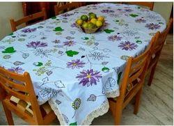 Printed Plastic Dining Table Cover Printed Mezposh