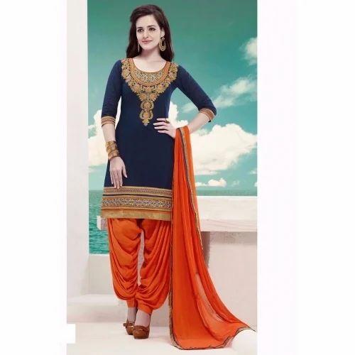 4d41964f11 Patiala Suit at Rs 1394 /piece | पटियाला सूट - V. J. ...