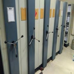 Mobile Compactor Racking System