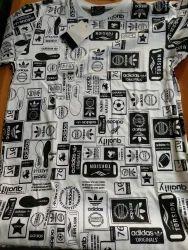 Adidas Printed T Shirt