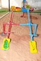 Kids 4 Seater Seesaw