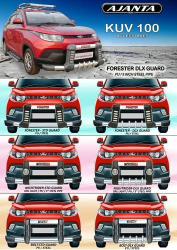 Kuv100 Accessories Front Guard Back Guard Roof Racks Side