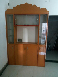 Brown Wooden T V Cupboard Interior, for Home