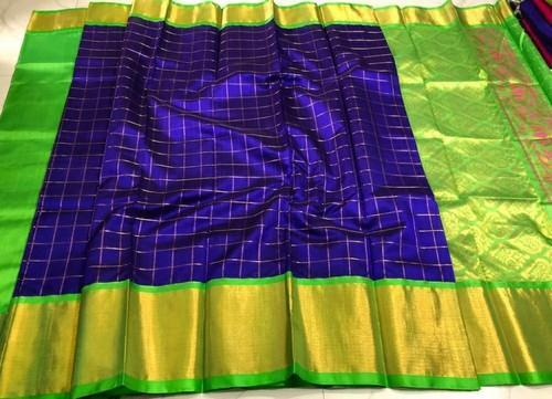 d5aa3065f1 Pallu Colour Kuppadam Pattu Sarees, Construction Type: Machine, Rs ...