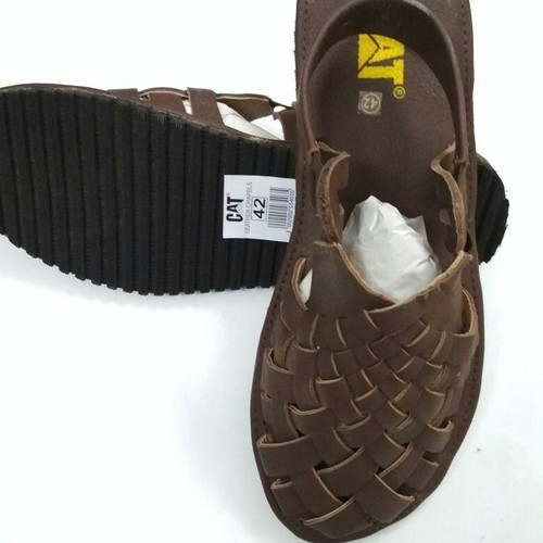 f68e20c57c096 Casuals Black Brown Leather Mesh Sandals For Men, Size: 6 To 11, Rs ...
