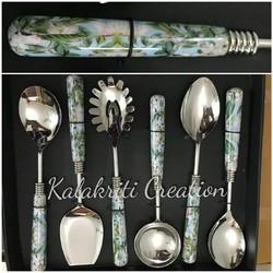 Digital Print Serving Spoon Set