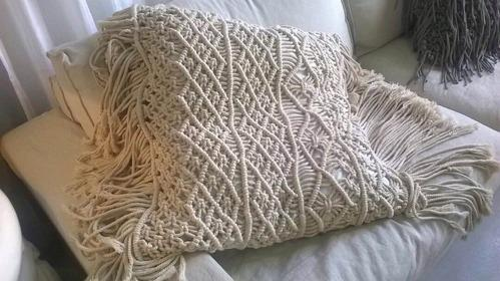 Pillows Macrame Decorative Pillows Manufacturer From