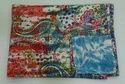 Kantha Bed Cover Paisly Tye Dye