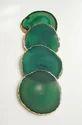 Green Agate Coaster