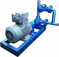 Internal Gear Pump with Bypass Unit