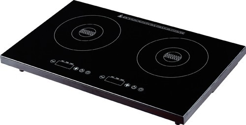 total 3400w 1400 2000 w touch control double burner induction