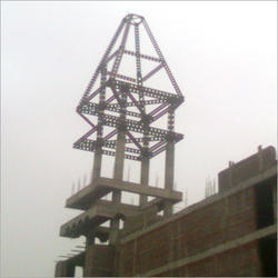 Iron Tower Structure Fabrication Service
