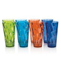 Acrylic Water Drinking Glass